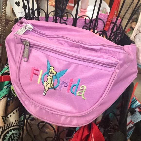 Disney Handbags - Florida Disney Tinkerbelle Fanny Pack Bag